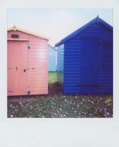 Hide and seek beach huts